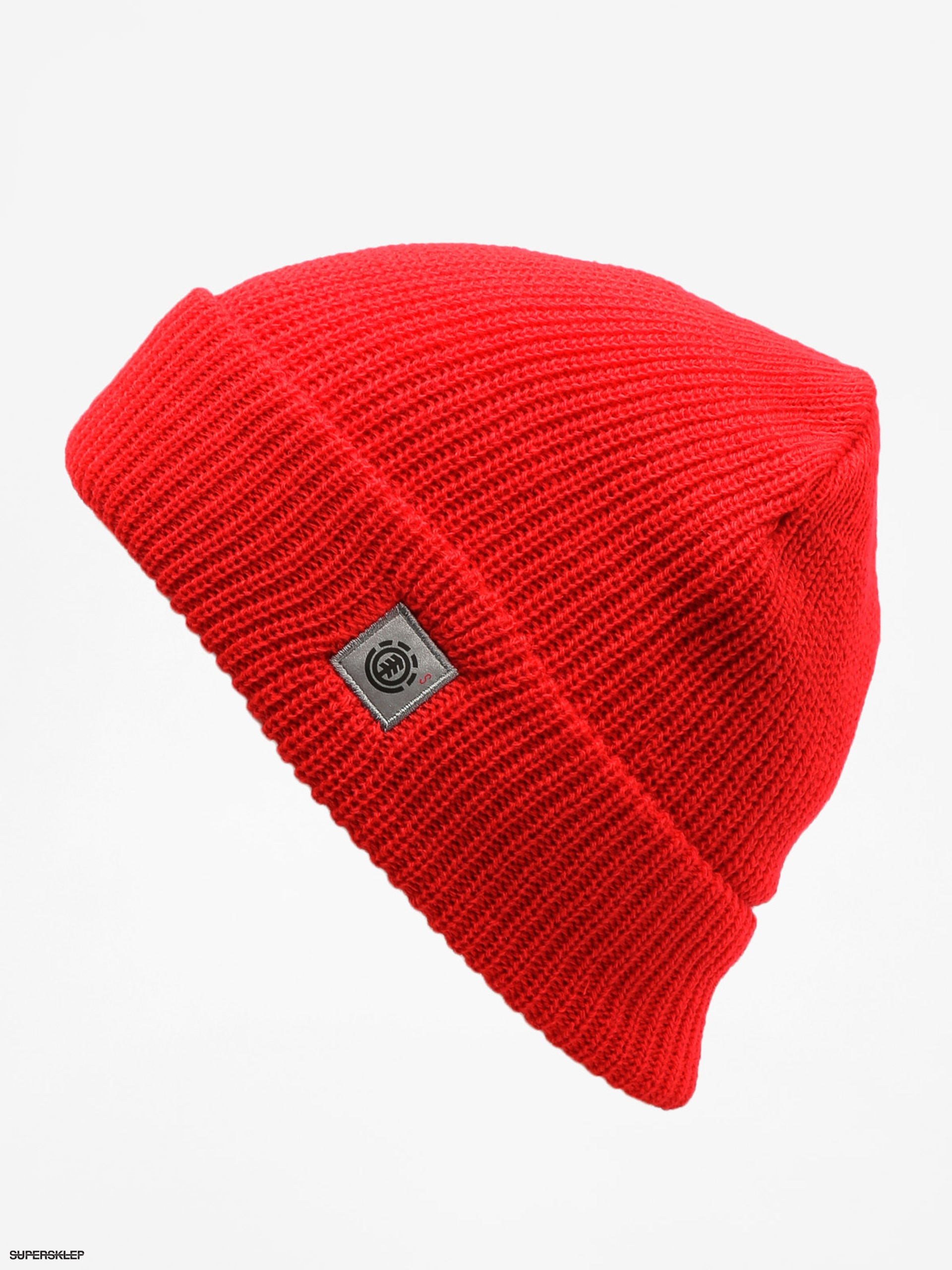 Čiapka Element S Line Skully Beanie (element red)