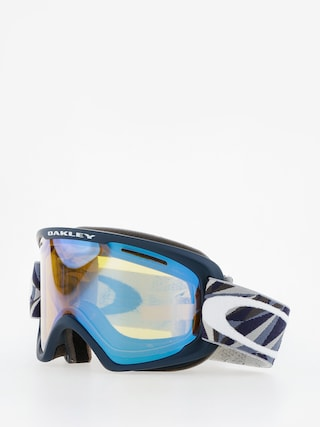 Oakley Okuliare na snowboard O Frame 2.0 Xm (facet iron fathom/high intensity yellow)