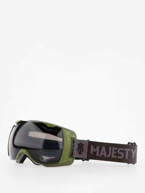 Majesty Okuliare na snowboard Spectrum (army green/black pearl/clear citrine)