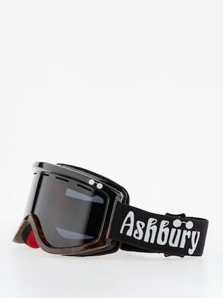 Ashbury Okuliare na snowboard Warlock (black and yellow tortoise)