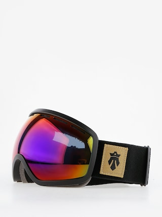 Majesty Okuliare na snowboard One11 (black/rainbw opal/clear citrine)