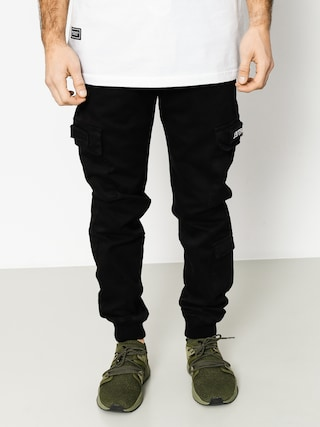 Backyard Cartel Nohavice Trench Jogger (black)