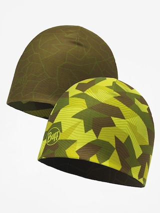 Buff Čiapka Microfiber Reversible (block camo green)