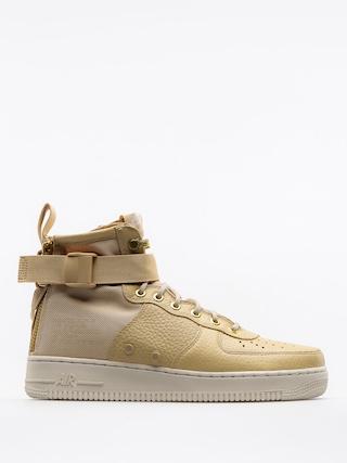 Nike Topánky Sf Air Force 1 Mid (mushroom/mushroom light bone)