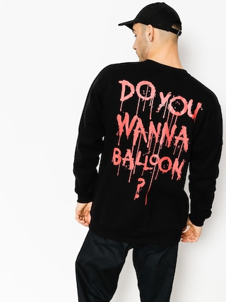 Mikina Diamante Wear Do You Wanna Balloon (black)