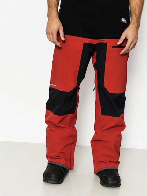 Snowboardové nohavice Quiksilver Tr Stretch (ketchup red)