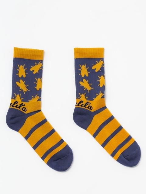 Ponožky Malita Fly (blue)