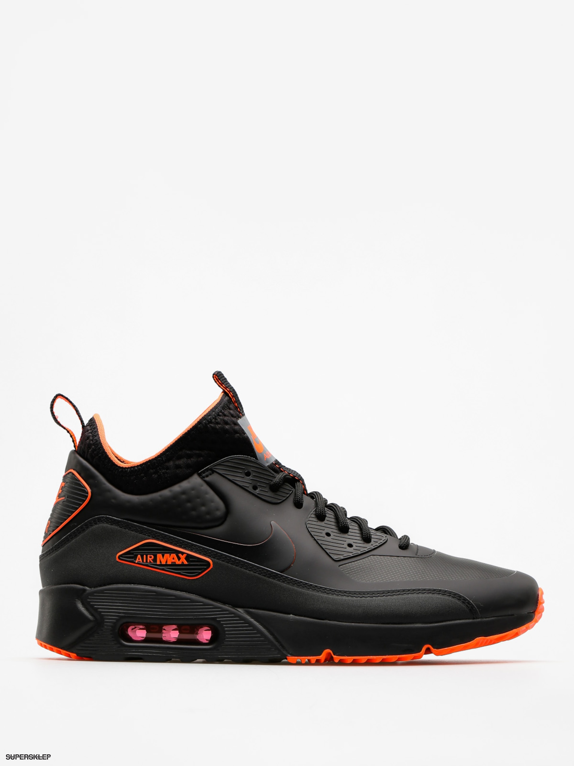 Topánky Nike Air Max 90 Ultra Mid Winter Se (black/black total crimson cool grey)