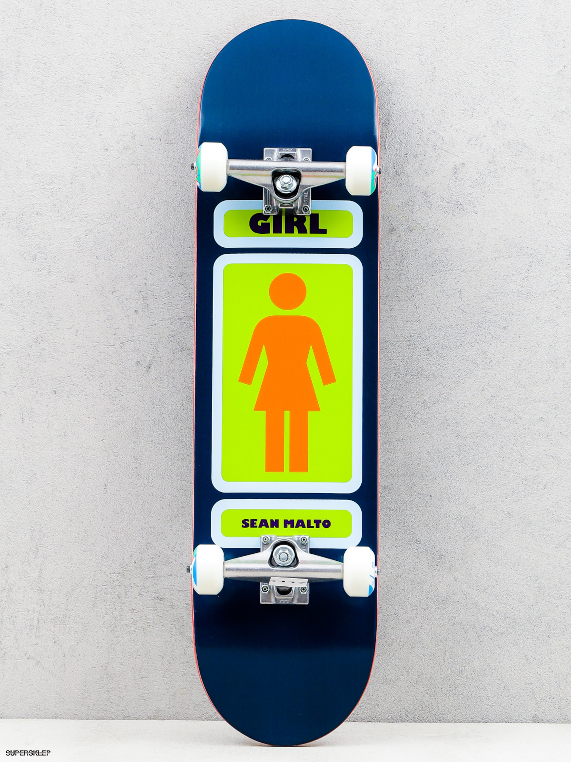 Skateboard Girl Skateboard Malto 93 (navy/green)