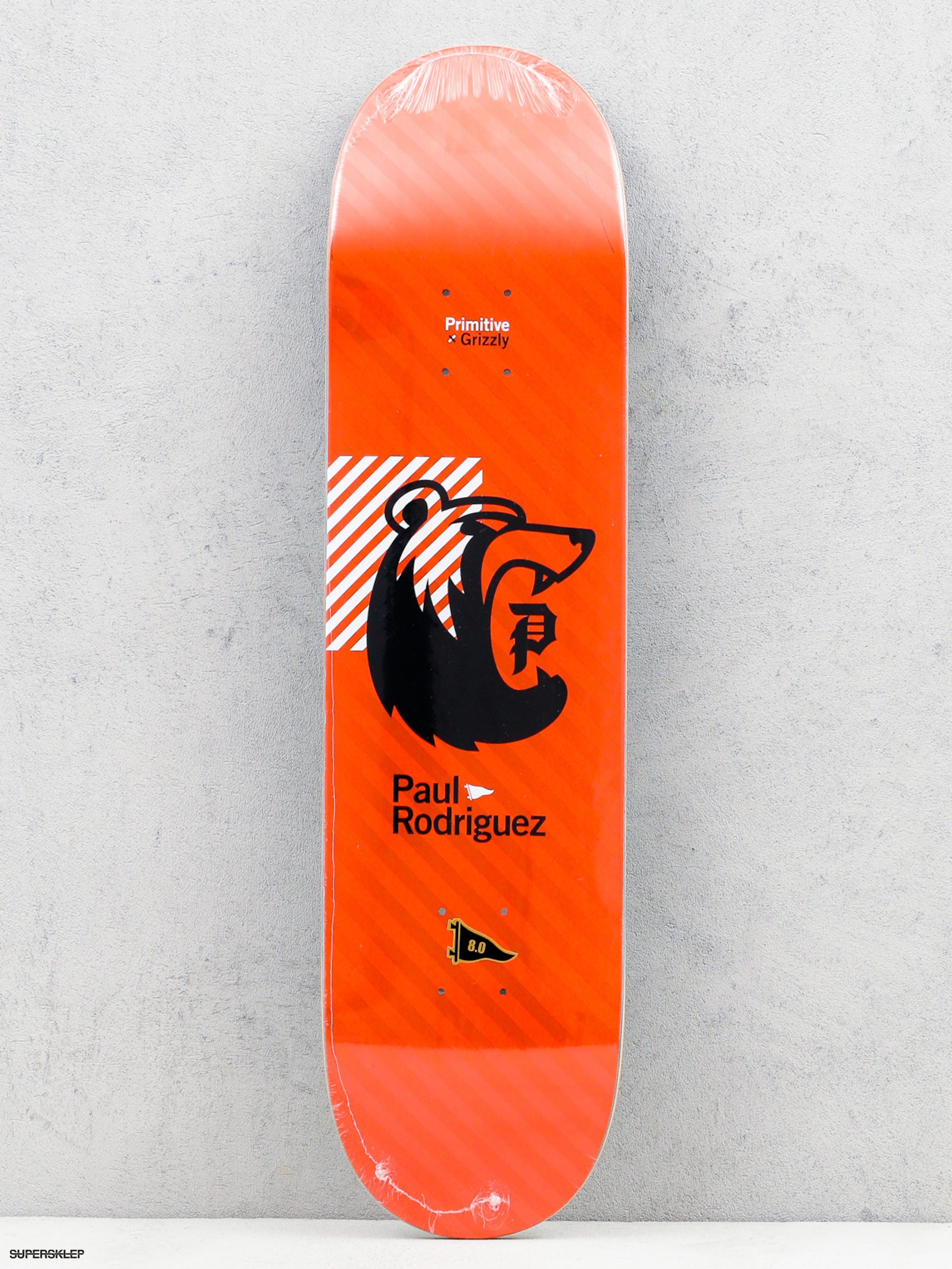 Doska Primitive x Grizzly Rodriguez Bearhaus (red)