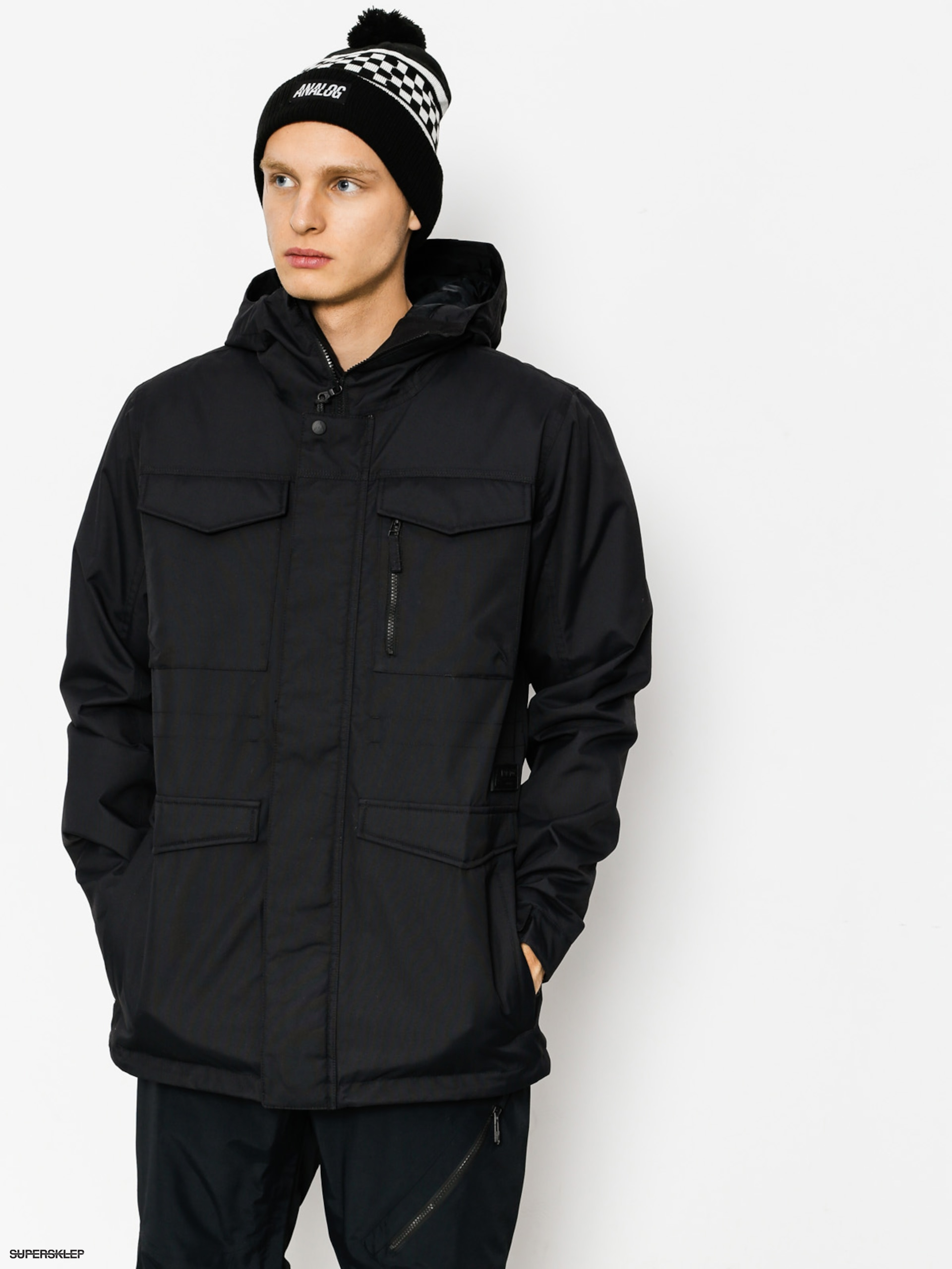 Snowboardová bunda Burton Covert (true black)