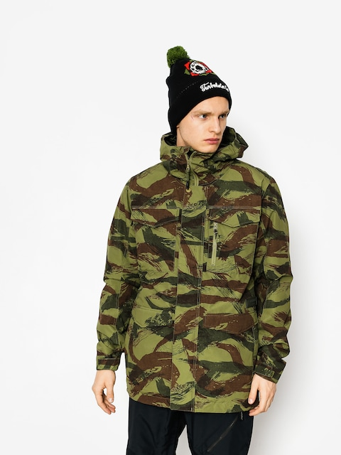 Snowboardová bunda Burton Covert (brush camo)