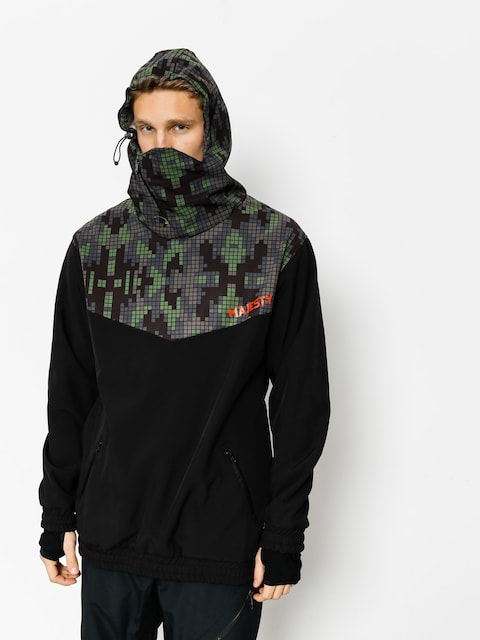 Snowboardová bunda Majesty Deathproff Softshell (digicamo)