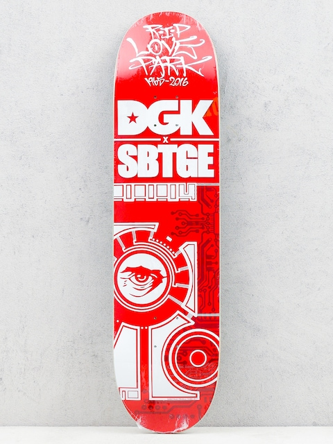 Doska DGK Sabotage (red/white)