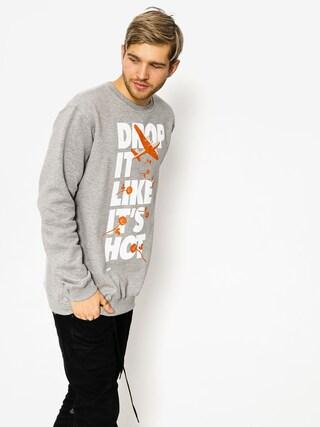 Mikina Diamante Wear Drop It Like It Hot (grey)