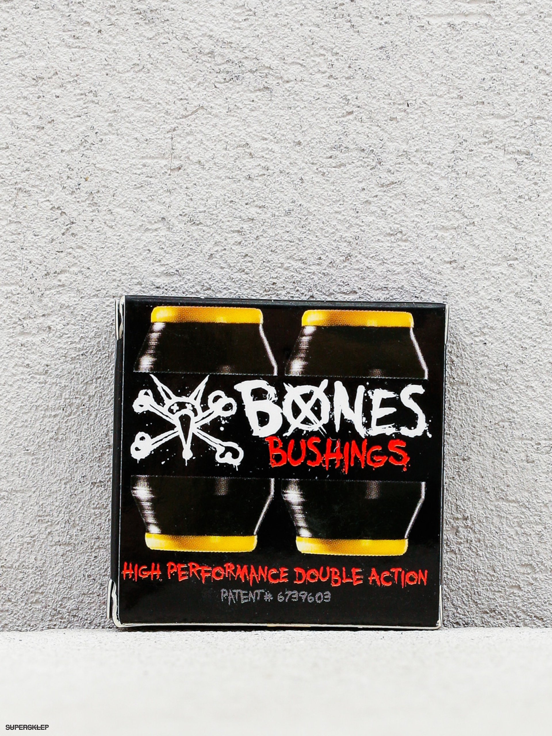 Gumičky Bones Bushings Medium (yellow/black)