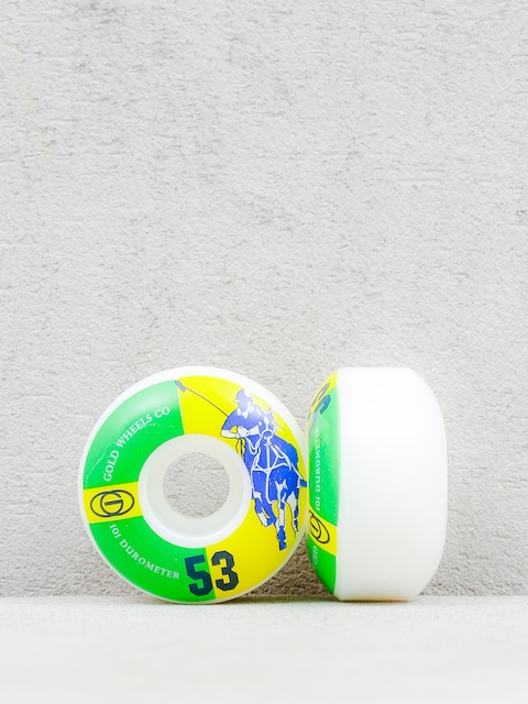 Kolieska Gold Wheels Karat Club (white/green/yellow)