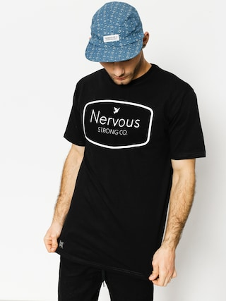 Tričko Nervous Ad (black)