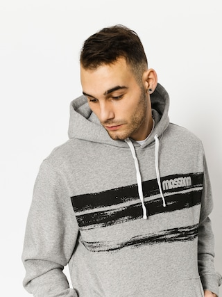 Mikina s kapucňou MassDnm Traces HD (light heather grey)