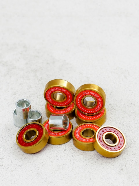 Ložiska FKD Swiss Gold (red)