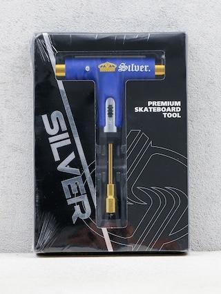 Kľúč Silver Premium Skateboard Tool (purple/gold)