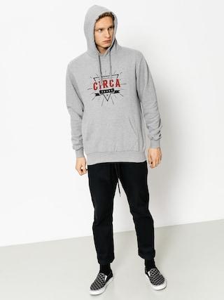 Mikina s kapucňou Circa League HD (athletic grey)