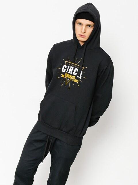Mikina s kapucňou Circa League HD (black)