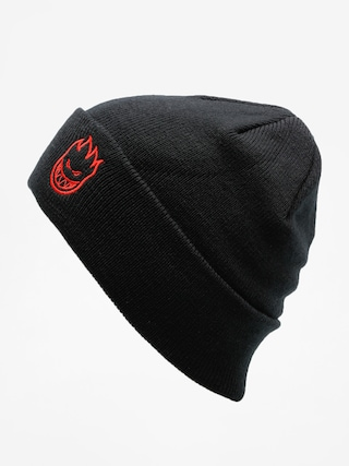 Čiapka Spitfire Beanie Big Head Emb (black/red)