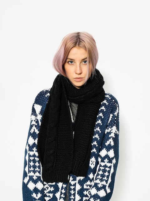 Šál Element Feather Top Scarf Wmn (black)