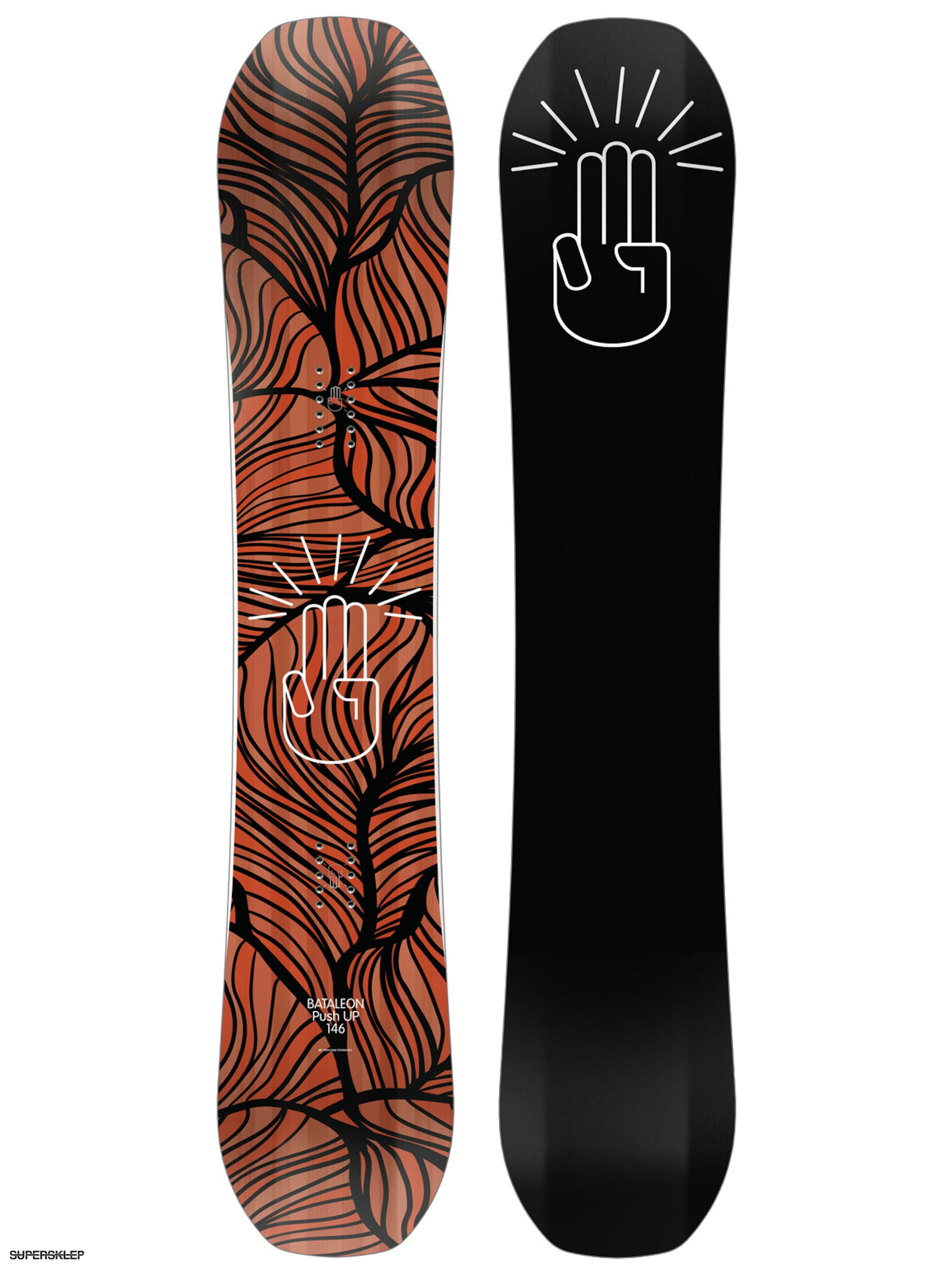 Bataleon Snowboard Push Up Wmn