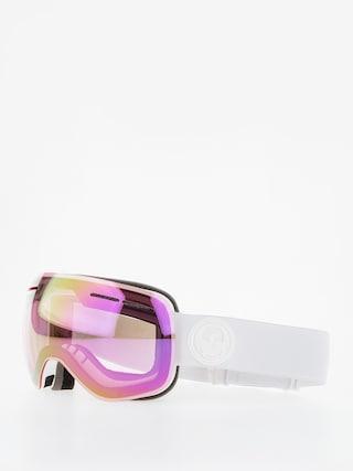 Dragon Okuliare na snowboard X1s (whiteout/lumalens pink ion/dark smoke)