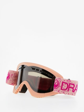 Dragon Okuliare na snowboard DXS (pink/dark smoke)