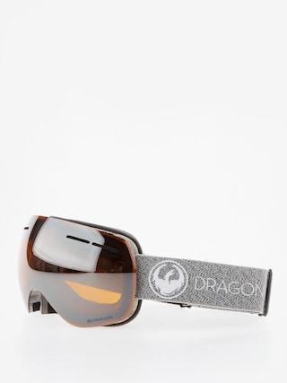 Dragon Okuliare na snowboard X1s (mill/lumalens silver ion/dark smoke)
