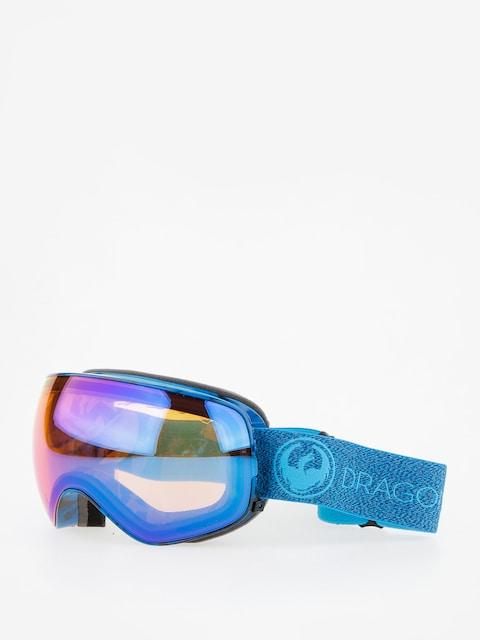 Dragon Okuliare na snowboard X2s (mill/lumalens blue ion/l amber)