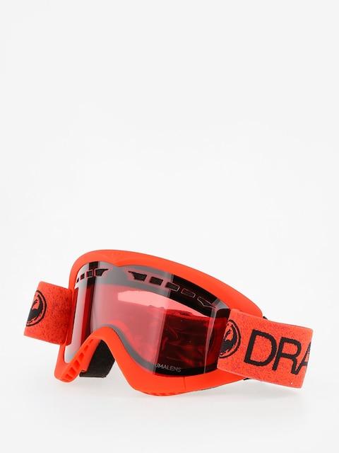 Dragon Okuliare na snowboard DXS (melon/lumalens rose)