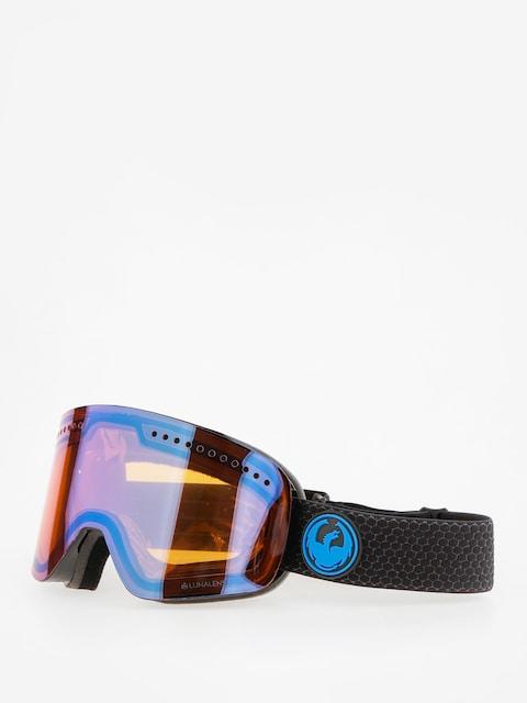 Dragon Okuliare na snowboard NFX (split/lumalens blue ion/l amber)