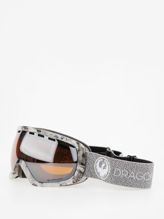Dragon Okuliare na snowboard Rouge (mill/lumalens silver ion/dark smoke)