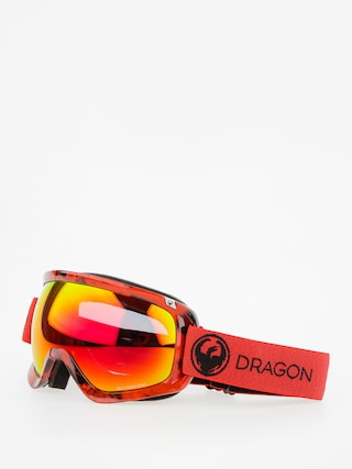 Dragon Okuliare na snowboard D3 (mill/lumalens red ion/l rose)