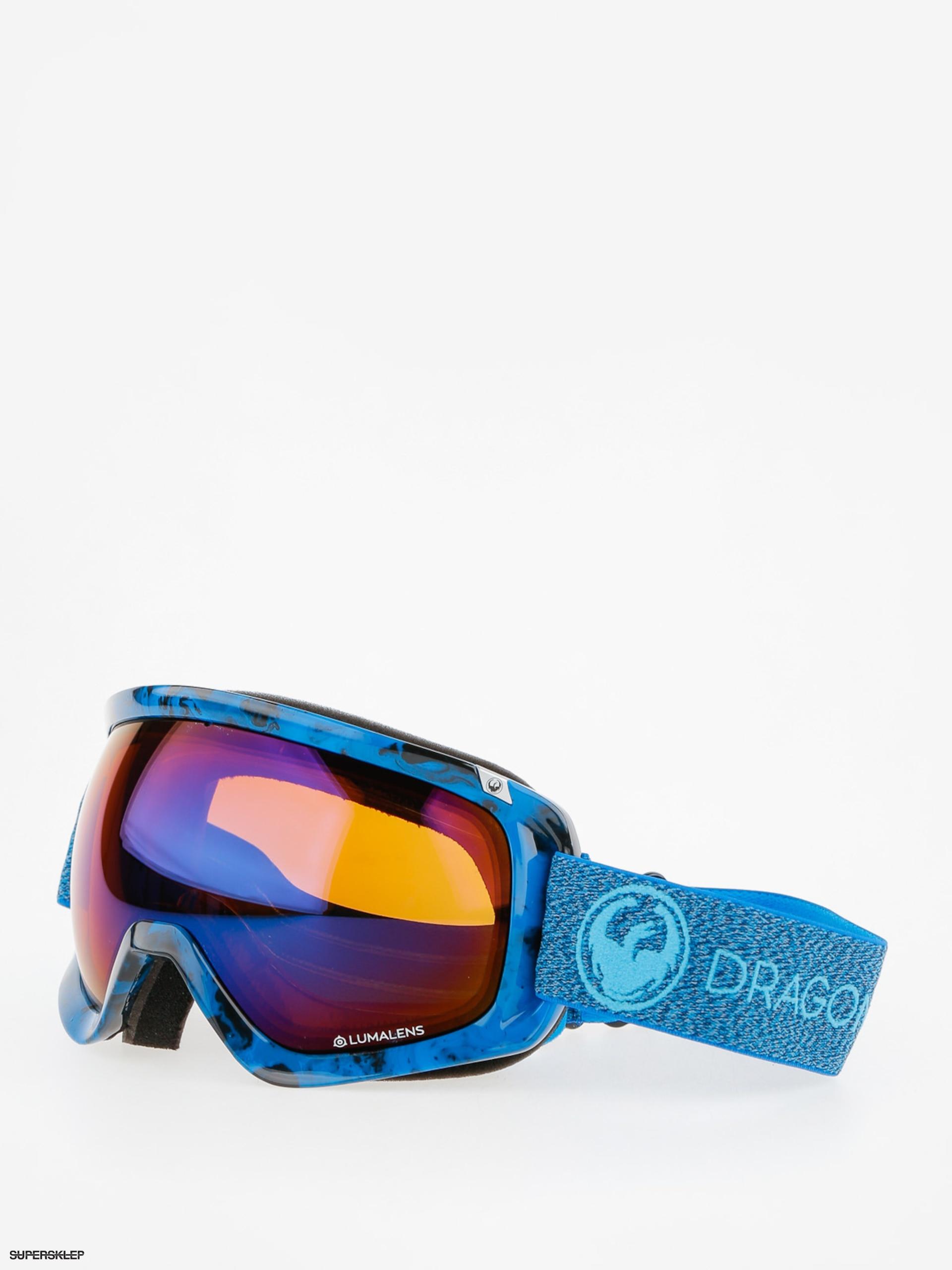 Dragon Okuliare na snowboard D3 (mill lumalens blue ion l amber) 9c68f7d3146
