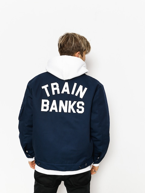 Bunda Polar Skate Train Banks (navy)
