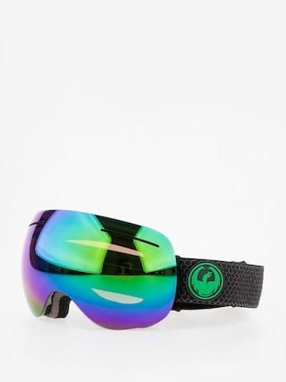 Okuliare na snowboard Dragon X1 (split/lumalens green ion/l amber)