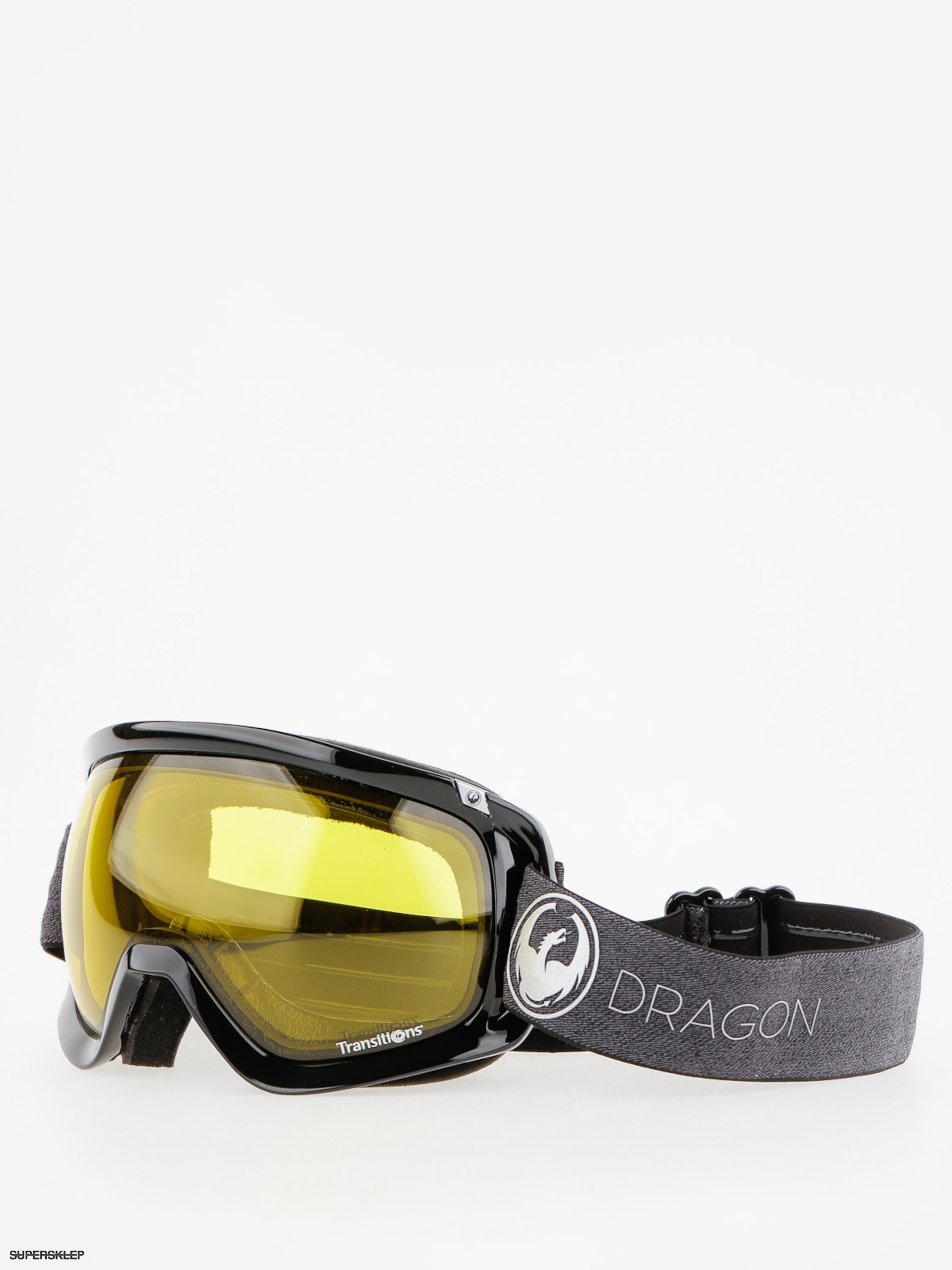 Okuliare na snowboard Dragon D3 (echo/transitions yellow)