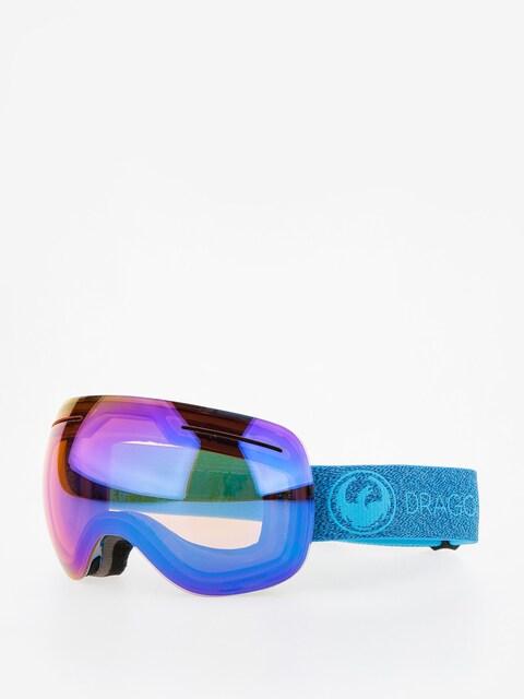 Okuliare na snowboard Dragon X1 (mill/lumalens blue ion/l amber)