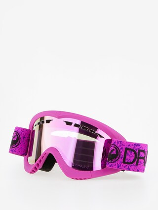 Okuliare na snowboard Dragon DXS (violet/lumalnes pink ion)