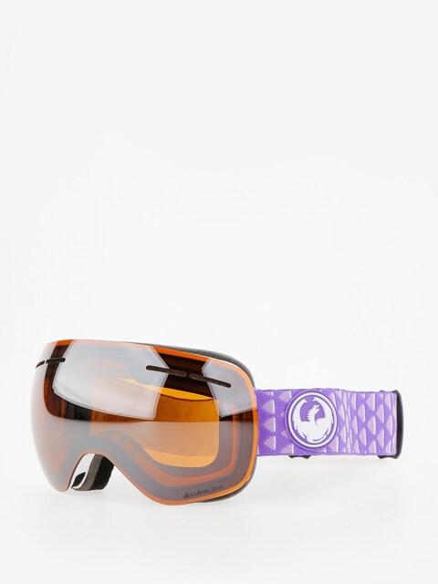 Okuliare na snowboard Dragon X1s (amp/lumalens silver ion/dark smoke)