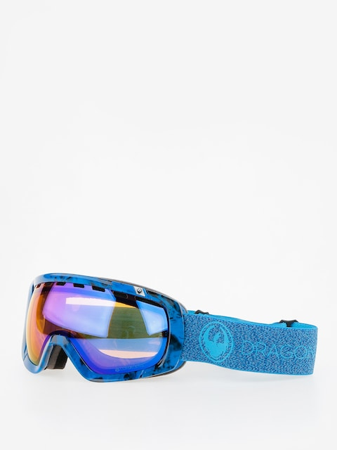 Okuliare na snowboard Dragon Rouge (mill/lumalnes blue ion/l amber)