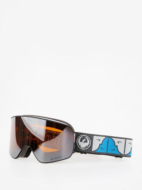 Okuliare na snowboard Dragon NFX2 (forest bailey sig/lumalens silver ion/dark smoke)