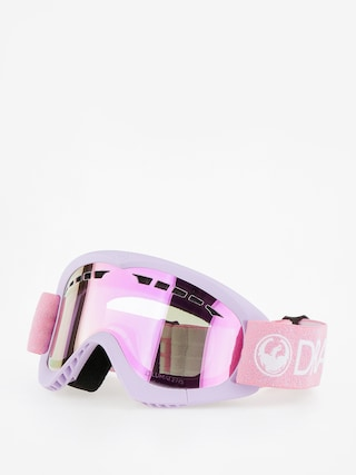 Okuliare na snowboard Dragon DXS (light pink/lumalens pink ion)
