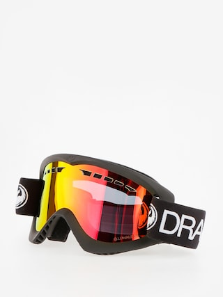 Okuliare na snowboard Dragon DX (black/lumalens red ion)