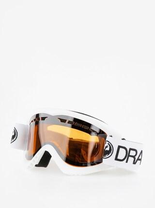 Okuliare na snowboard Dragon DX (white/lumalnes silver ion)